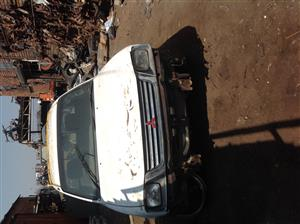 Stripping Mitsubishi Colt 2000 for Spares