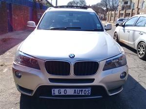 2013 BMW X3 xDrive20d Luxury Line auto