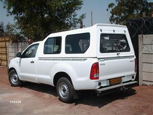BRAND NEW TOYOTA HILUX VVTI/D4D SINGLE CAB LWB HI-LINER CANOPY WITH R/RACKS FOR SALES!