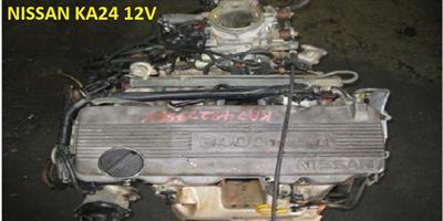 Second hand used low mileage  NISSAN NAVARA/HARDBODY 12V SOHC engines for sale
