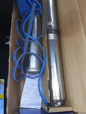 Borehole pump