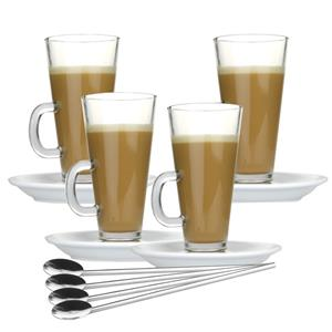 LATTE Arcoroc  Footed Coffee Mugs 290ml R29.00 each
