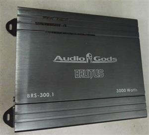 AudioGods Mono 300w RMS Amplifier.