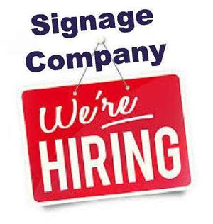 24/6 printers Sign company looking for vinyl applicator/rigger