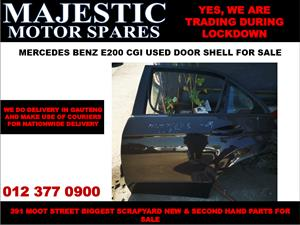 Mercedes benz e200 cgi used door shell for sale