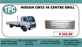 Nissan CM12-16 Centre Grill - For Sale at TPC.