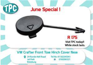 VW Crafter Front Tow Hinch Cover 2013-New for Sale at TPC