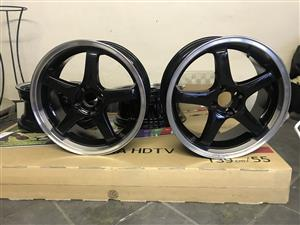 17 inch, 100pcd rims for sale
