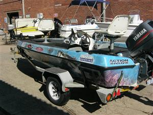 Bass-Sprit 16 with Yamaha 130HP Motor