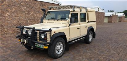 2004 Land Rover Defender 110 2.5 Td5 double cab