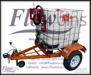 NEW 1000L Diesel Bowser Trailers 12V - Heavy Duty with Papers - from R21 089