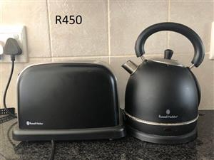 RUSSELL HOBBS - TOASTER AND KETTLE