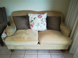 Ochre Weatherlys couch