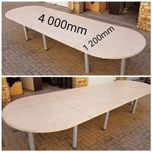 Large Modern Boardroom Table