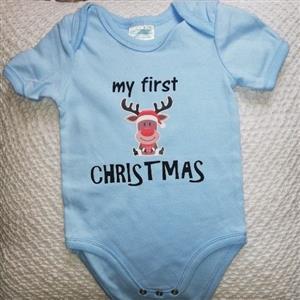 My 1st Christmas Babygrow