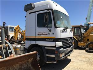 Merc Actros 18-35 Single Axle - ON AUCTION