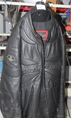 Black colehaan motorbike jacket S032514A #Rosettenvillepawnshop
