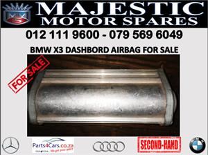 Bmw X3 dashboard airbags for sale