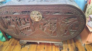 Hand carved Kist