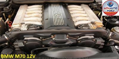 USED SECOND HAND LOW MILEAGE QUALITY ENGINES - BMW 750I/850I/850CI V12 SOHC 24V M70 V12