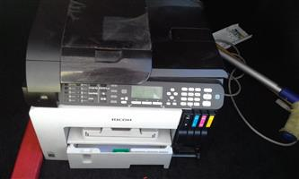 Printer, fax and  copy machine. Almost brand new