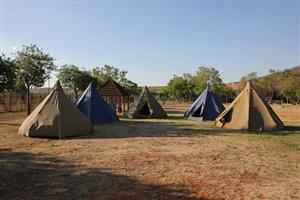 Ripstop Canvas Tepee Tents
