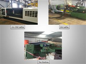 Various Machines / Lathes / Grinding Equipment for sale.