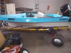 Motorboat to swop