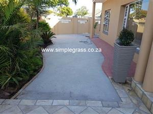 ARTIFICIAL GRASS LANDSCAPING EXPERTS # SIMPLE GRASS TURF # BLOCK N TURF # SUPPLY AND INSTALLATION