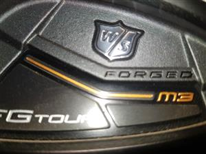 WILSON STAFF FG TOUR M IRONS FOR SALE