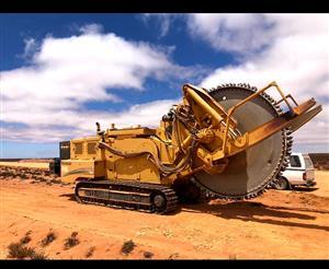 For Hire : Vermeer T855 Rock Wheel Trencher