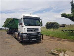 34 tonne side tippers for Rental
