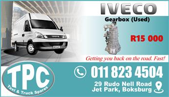 Iveco Double Wheel Gearbox - Used - Quality Replacement Taxi Spare Parts.