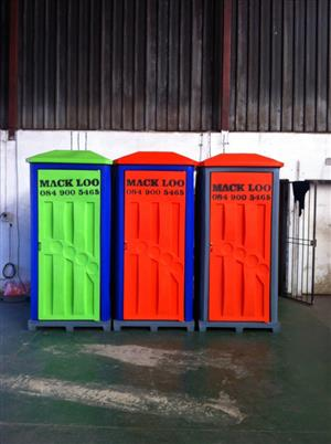 Portable Toilet Hire - R770 pm - Mack Loo Toilet Hire
