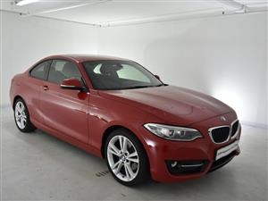 2017 BMW 2 Series coupe 220d SPORT LINE A/T(F22)