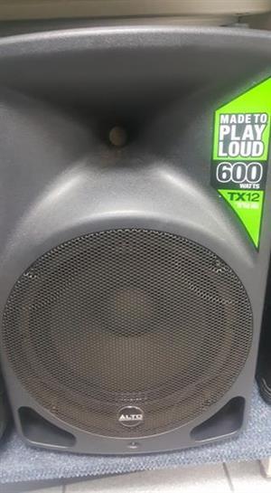 Alto TX12 Active speaker