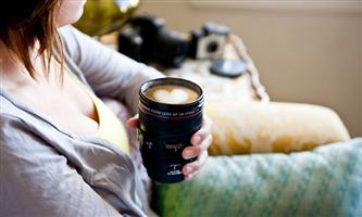**MUST HAVE** SLR Camera Lens Travel Coffee Mug ------ LIMITED STOCK