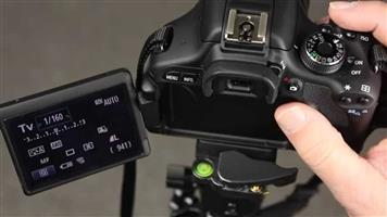 Canon EOS 600D with Lens and Handy Recorder