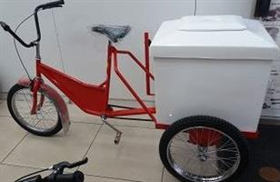 3 Wheel Ice Cream Bicycle with Cooler Box