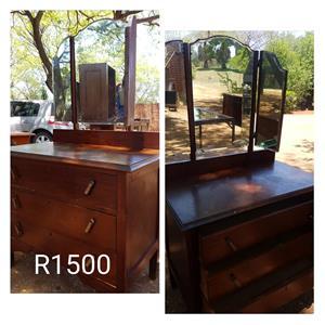 Antique wooden dresser for sale