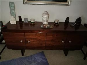 Antique dining sideboard