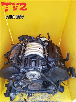 AUDI- BDV ENGINE FOR SALE