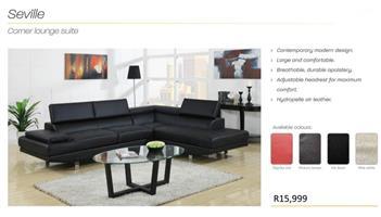 PERILLI SEVILLE Lounge Suite.