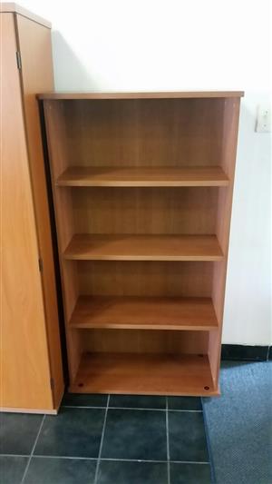 Cherry finish bookshelf