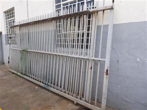 Large Angle-Iron / Palisade Sliding Gates for sale