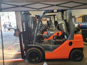 Toyota Forklift 8Series 2.5 ton