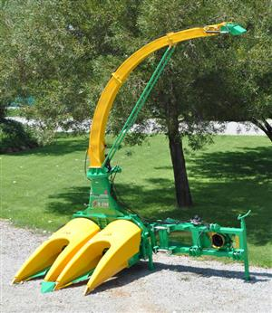 S2344 Green JF C-240 Double Row Evolution Forage Harvester  New Implement