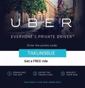 R250 2019 Uber Promo Code: takun98ue