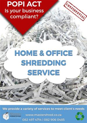 Secure Document Shredding Service