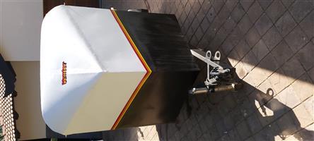 Venter Sputnik trailer with side and & rear door 13 inch wheels